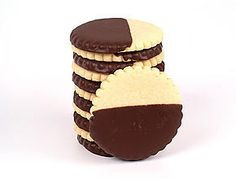 Delicious Chocolate Dipped Shortbread - These are the best!