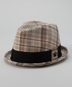 0a8d8129d65 Fedora by Goorin Bros. on  zulily Trying to work plaids into a room