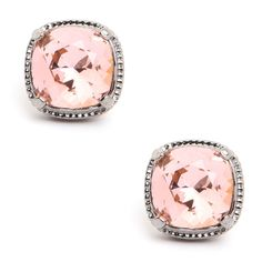ballet cushion studs :: love these! LOVE LOVELOVE
