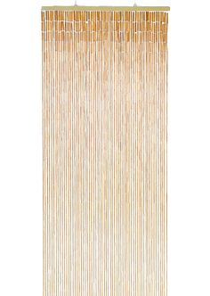 """Our Plain Bamboo Curtain! 32"""" wide, 76"""" Long...Take it out of the box and hang it right up! This curtain has 60 strands of beads. It gives more coverage than some of the other wood and bamboo curta"""