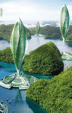 """30 Amazing Green Building Architecture Design Ideas - The latest trend in new home construction is """"green building"""". Most people equate green building with efficient or renewable materials. Architecture Durable, Floating Architecture, Chinese Architecture, Futuristic Architecture, Sustainable Architecture, Contemporary Architecture, Amazing Architecture, Architecture Design, Building Architecture"""