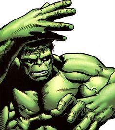 Hulk (Dr. Bruce Banner) (Savage Hulk persona) | art by Steve Scott