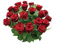 Rode rozen voor de Liefde  www.bloemenkiosk.com