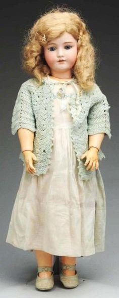 "Pert Handwerck Child Doll. 29""......incised ""Heinrich Handwerck Simon  Halbig"""