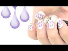 """Pintados de uñas fáciles """"estilo puzzle. Puzzle nail art tutorial."""