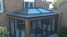 Flat roof extensions don't have to be large. They can be small but still include a lantern roof and spans of bi-fold doors. Flat roof extensions don't have to be large. They can be small but still include a lantern roof and spans of bi-fold doors.
