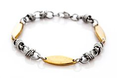 Stainless steel sports bracelet - Lisa Tamati Bespoke Jewellery.  Inspiring and beautiful.  www.lisatamati.co.nz/store