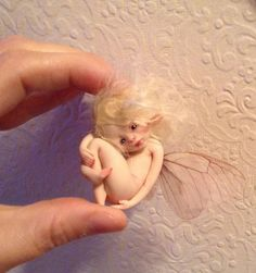 Hanging Christmas tree fairy. *Made to order*