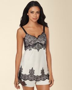 Soma Intimates Signature Ornate Lace Sleep Cami Champagne #somaintimates My Soma Wish List Sweeps