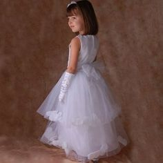 Sophias Style Boutique White Petal Wedding Flower Girl Pageant Dress 2T-14 (Apparel)  http://www.1-in-30.com/crt.php?p=B000TRMSJ0  B000TRMSJ0
