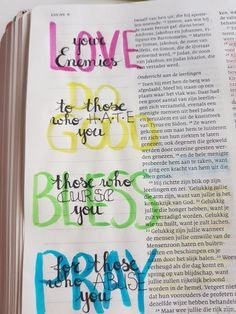 Bible journaling ideas that are simple and easy.