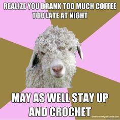De Fuck Yeah Crochet Goat  http://fyeahcrochetgoat.tumblr.com/