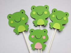 frog baby shower decorations 3