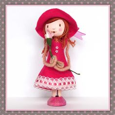 Peg Doll Lilly. £24.00, via Etsy.