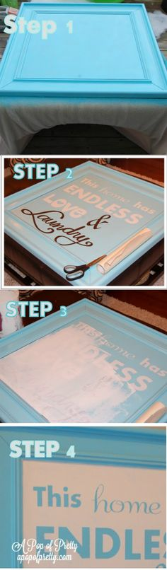 DIY Laundry Room Sign Tutorial | Crafts and DIY Community