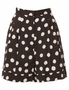 Karen Walker - Cuff Shorts
