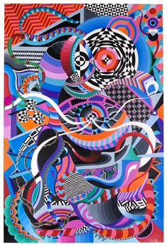 DUDA LANNA'S PSYCHEDELIC GEOMETRY
