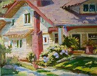 Jose's Art Journal: California Art Club Paint Out South Pasadena