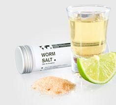 #Tequila Worm Salt - Sal de Gusano #Mashpotato