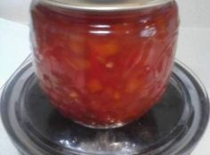 My daughter Tracy found this recipe in the paper and shared it with me when we visited.I made a batch and it is now a staple in my gift baskets at christmas.it is october and the recipiants know it is there.but they will just have to wait lol Pepper Relish, Tomato Relish, Onion Relish, Relish Recipes, Canning Recipes, Canning Food Preservation, Preserving Food, Onion Jam, Fruit Preserves