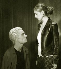 I feel really bad for Spike! At first he wants to kill Buffy. Then he falls for her. She wants absolutely nothing to do with him, and doesn't spare a chance to tell him what a no-good good-for-nothing nothing he is. No, really, she tells him so many times how worthless he is, and he hates himself for it; so he tries to get a soul so she'll love him. It drives him crazy. She still doesn't like him. Good gosh, woman! Have a heart!