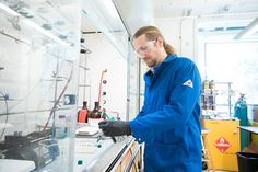 """The art and science of polymer chemistry:  """"Maybe because it's the first thing I worked on, I've always liked polymers,"""" associate professor Jeremiah Johnson says. """"I've been doing that ever since."""""""