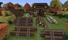 Minecraft - Lumberjack Overview by Shroomworks