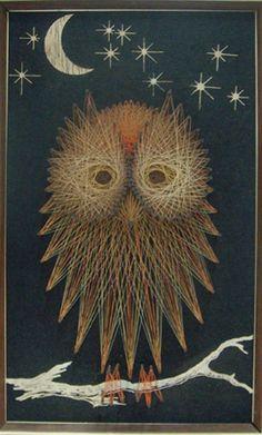 string art owl