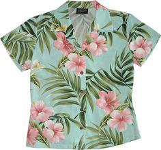 da5bb00bb Hawaiian shirts for women | Women's Hawaiian Shirts Kimono Shirt, Shirt  Blouses, Dress Shirts