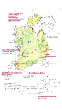 Näin piirrät hyvän kartan ohjeet