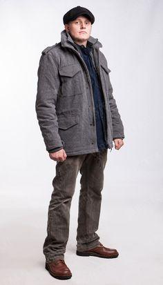 Brandit M65 Voyager wool jacket, grey