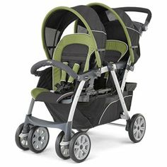 Chicco Cortina Together Double Stroller - Elm 1 of 2
