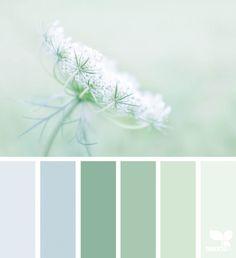 Green color palette