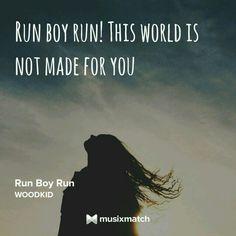 WOODKID-Run Boy Run