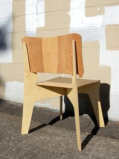 Flat pack elephant chair