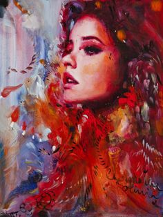 Paintings by Charmaine Olivia | Cuded
