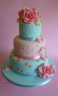 Cath Kidston cake - The Cake Boutique London