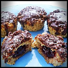 Gluten Free Pumpkin Delight Muffins Recipes - While they are cooling melt some dairy-free dark chocolate and then drizzle over your muffins with a spoon. And then sprinkle on some unsweetened coconut flakes!..YUMMMMY!