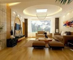 35-Dazzling-Catchy-Ceiling-Design-Ideas-2015-13 46 Dazzling & Catchy Ceiling…