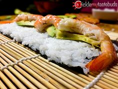Sushi Recipe For Beginners | Homemade Sticky Rice, Creamy Crab and Salmon | Tickle My Tastebuds