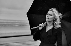 Kate Winslet in Vogue Italia  Ph: Peter Lindbergh Fashion Editor: Clare Richardson Hair: Odile Gilbert MUA: Tom Pecheux