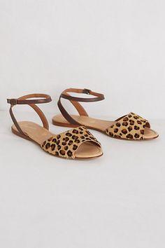 navin sandals / anthropologie