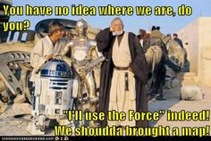 Why Can't Jedi Ever Stop and Ask for Directions?