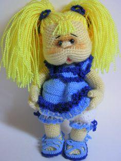 Катя - Вязаные ребетёнки - Галерея - Форум почитателей амигуруми (вязаной игрушки)