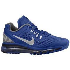 Nike Air Max + 2013 - Women's - Deep Royal Blue/Cool Grey/White/Reflect Silver