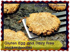 Gluten Egg and Dairy Free Snickerdoodles ~ Allergen Free and Flavorful!