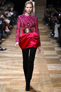moda de alta costura de Balmain