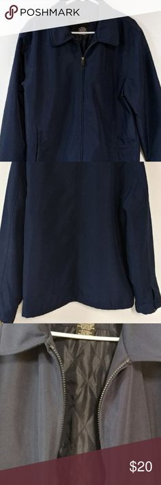 Men's Quilted Softshell Jacket Sz M Men's Navy Blue Quilted Softshell Jacket Sz M Quilted lightly inside Excellent condition. No flaws visible on outside Really nice cut and modern shaping Zip up George Jackets & Coats Lightweight & Shirt Jackets