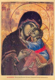 Bogorodica Dečanska - Google Zoeken Madonna And Child, Mother Mary, Ikon, Faith, Painting, Google, Virgin Mary, Painting Art, Blessed Virgin Mary