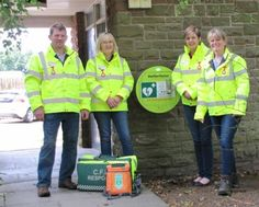 Dufton's new defibrillator http://www.cumbriacrack.com/wp-content/uploads/2016/08/Dufton-Community-First-Responders.jpg A community public access defibrillator has recently been installed in the centre of Dufton attached to the front wall of the public toilets in the car park.    http://www.cumbriacrack.com/2016/08/17/duftons-new-defibrillator/